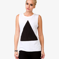 Triangle Graphic Muscle Tee