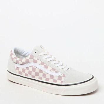Vans Anaheim Factory Old Skool 36 Dx Mauve Checker Shoes At Pacsun.com - Beauty Ticks