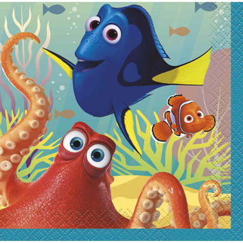 Finding Dory Party Beverage Napkins [16 per pack]