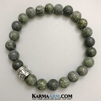 FATHER'S LOVE: Russian Serpentine | DAD | Yoga Chakra Bracelet
