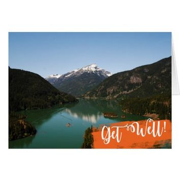 Blank Get Well Note Card