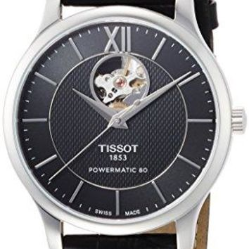 Tissot Tradition Automatic Black Dial Mens Watch T0639071605800