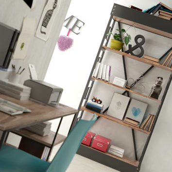 Shelving in the industry look