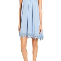 Cream and Sugar Woven Halter Dress | Nordstrom