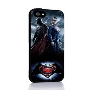 Batman V Superman for Iphone 4 4s 5 5c 6 6plus Case (iphone 5 black)