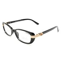 Gucci Women Edgy Optical Clear Lens Fashion Brand Designer Eyeglasses Glasses