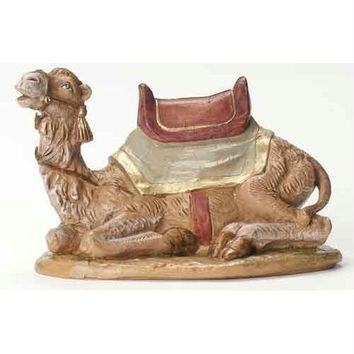 "Fontanini  Seated Camels -  7.5 ""  - Comes Individually Boxed"