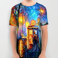 The Doctor Starry the night Art painting iPhone 4 4s 5 5c 6, pillow case, mugs and tshirt All Over Print Shirt by Three Second