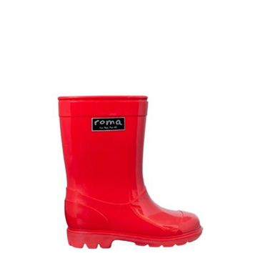 ABEL Toddler Red Rain Boots