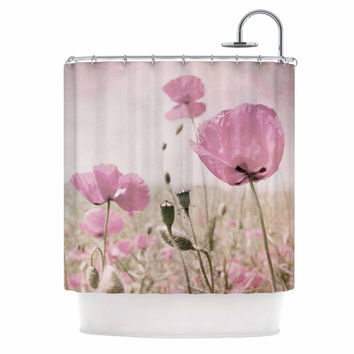 "Iris Lehnhardt ""Summer Dream"" Pink Floral Shower Curtain"