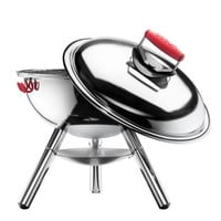 Fyrkat Picnic Charcoal Grill with Chrome Legs by Bodum