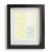 Ho Hey / Lumineers - Music Lyric Art Print - home decor, wall decor, modern art, gift idea, gift for her, gift for him