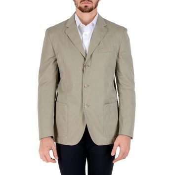 Polo By Ralph Lauren Mens Jacket Long Sleeves Beige