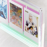 Iridescent Mod Block Frame | Urban Outfitters