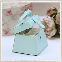 Teal Jewellery Box