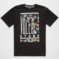 Volcom Meridian Boys T-Shirt Black  In Sizes