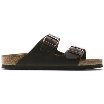 Birkenstock Arizona Oiled Leather Habana 0052531/0052533 Sandals - Ready Stock