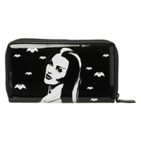 Rock Rebel The Munsters Lily Munster Bats Wallet