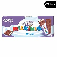 20 Pack Milka Milkini Sticks
