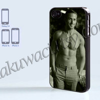 Ryan Gosling - iPhone 4 case - iPhone 4S case - Samsung Galaxy S3/S4 - iPhone case - Hard Plastic - Case Soft Rubber Case