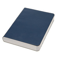 Miquelrius Soft Bound Medium Journal, 300 Sheets/600 Graph Pages, Blue