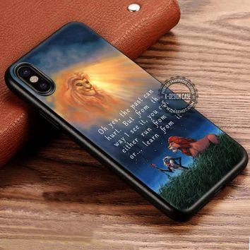 Quote Cartoon Art Lion King Simba iPhone X 8 7 Plus 6s Cases Samsung Galaxy S8 Plus S7 edge NOTE 8 Covers #iphoneX #SamsungS8
