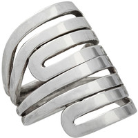 Modern Maze Ring, Rings - Silpada Designs