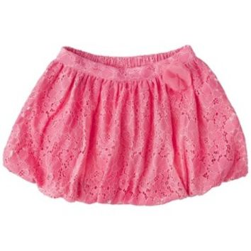 Cherokee® Infant Toddler Girls' Lace Bubble Skirt