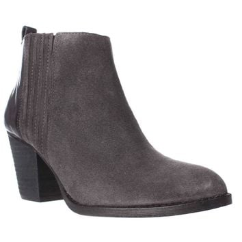 Nine West Fiffi Chelsea Ankle Boots, Dark Grey/Dark Grey, 5 US