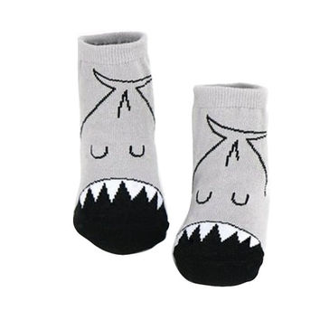 0-4 Years Old Newborn Baby Infant Boys Girls Anti-slip Socks Cartoon Pattern Soft Socks PE3 SM6
