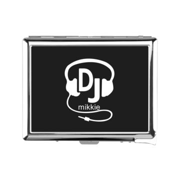 DJ Add Your Name Cigarette Case With Lighter - Cigarette Case With Lighter