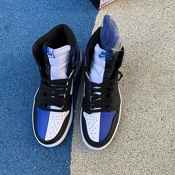 Air Jordan 1 Retro OG AJ1 Black/Royal Blue 861428-403