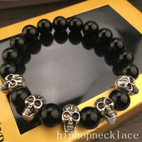 Great Deal Gift Stylish Awesome New Arrival Shiny Hot Sale Cross Rack Hip-hop Couple Accessory Bracelet [6542786371]