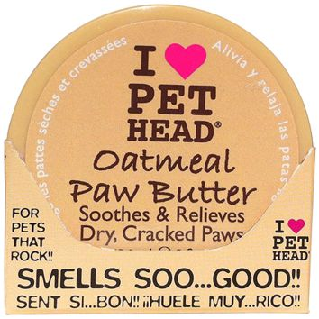 PET HEAD Oatmeal Paw Butter - 2 oz