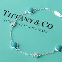 Tiffany & Co. Double Drill three Lansong bracelet