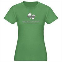 Massive Dynamic Women's Fitted T-Shirt (dark) - CafePress