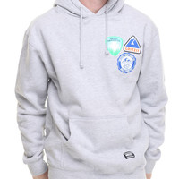 Park Badges Pullover Hoodie by Grizzly Griptape