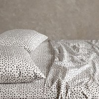 Bahia Sheet Set by Anthropologie Grey Motif