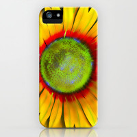 Sunflower Dream iPhone Case by Bruce Stanfield