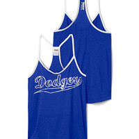 Los Angeles Dodgers Strappy V-Neck Tank - PINK - Victoria's Secret
