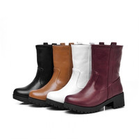 Womens Trendy City Casual Boots