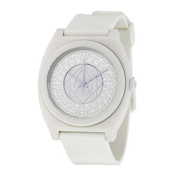 Nixon Time Teller P All White Shadow Ladies Watch A1191620