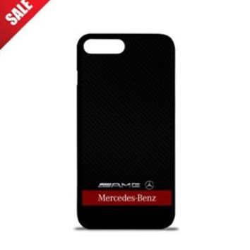 Best Mercedes Benz AMG Red Stripe Case For iPhone 6 6+ 6s 6s+ 7 7+ 8 8+ X Cover