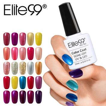 Elite99 Nail Gel Polish UV LED One Step Gel Varnish 10ML Long Lasting Vernis Semi Permanent Polish Remove by Alcohol