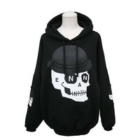 Personalized printing stitching skull sweater BBBJ