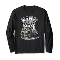 King of the 4x4 Off Roading Long Sleeve Shirt