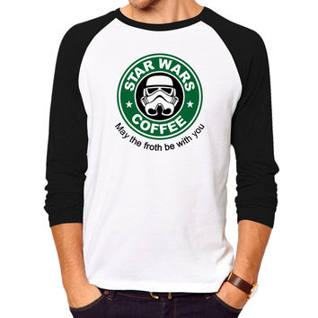 mens t-shirts fashion star wars starwar tops tees men Hip Hop Men T shirt full sleeve Casual cotton tshirt