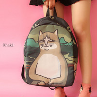 at printing lovely backpack backpack backpack(Six kinds of style)
