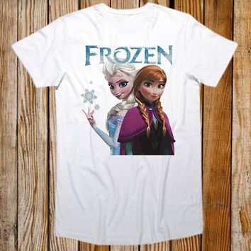 Favorite Designs disney FROZEN ScreenPrint T shirt Mens and T shirt Girl