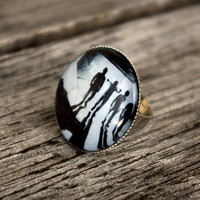 Clockwork Orange - adjustable ring